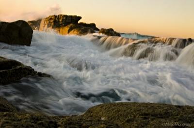 valerie monereau,corse,vagues,rochers,mer